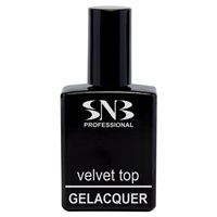 GELACQUER VELVET TOP without tacky layer 15 ml