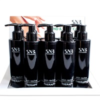 Cartoon display with 10 pcs Skin Revive Therapy 200 ml