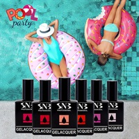 Collection GELacquer SNB POOL PARTY - SUMMER 2021