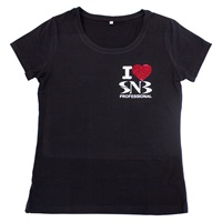 Women's T-shirt I LOVE SNB L - XXL