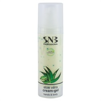 Hands and Body Cream-gel with Aloe Vera Spheres 30 ml
