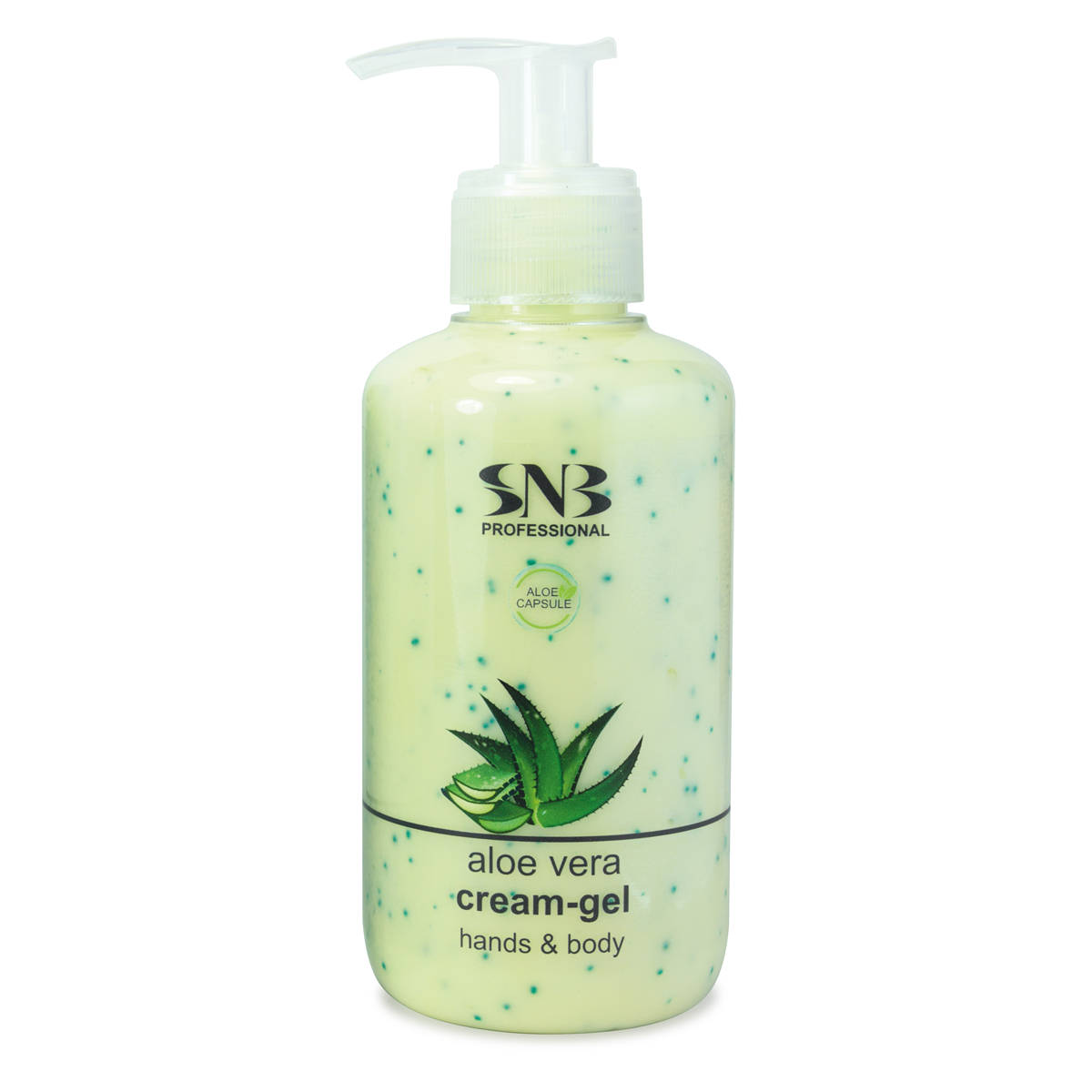 SNB Hands and Body Cream-gel with Aloe Vera Spheres 250 ml
