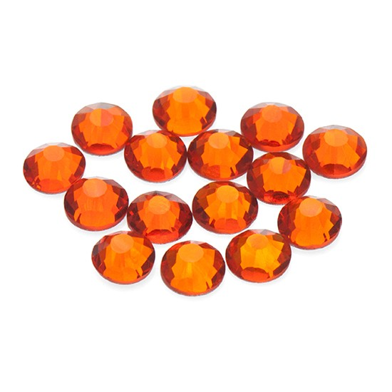 Swarovski Rhinestones 1.8 mm copper-orange /Tangerine/ - S