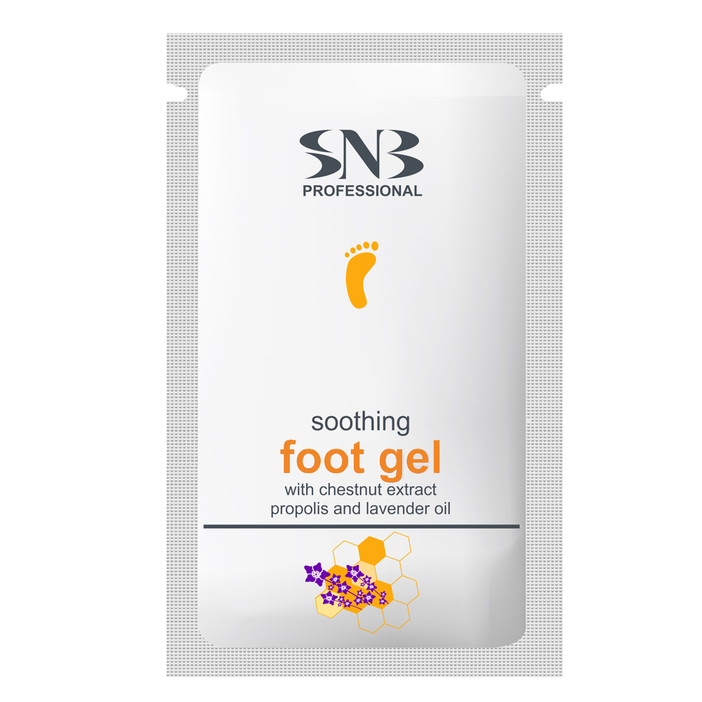 SNB Soothing Foot Gel with Propolis and Lavender Oil 10 g