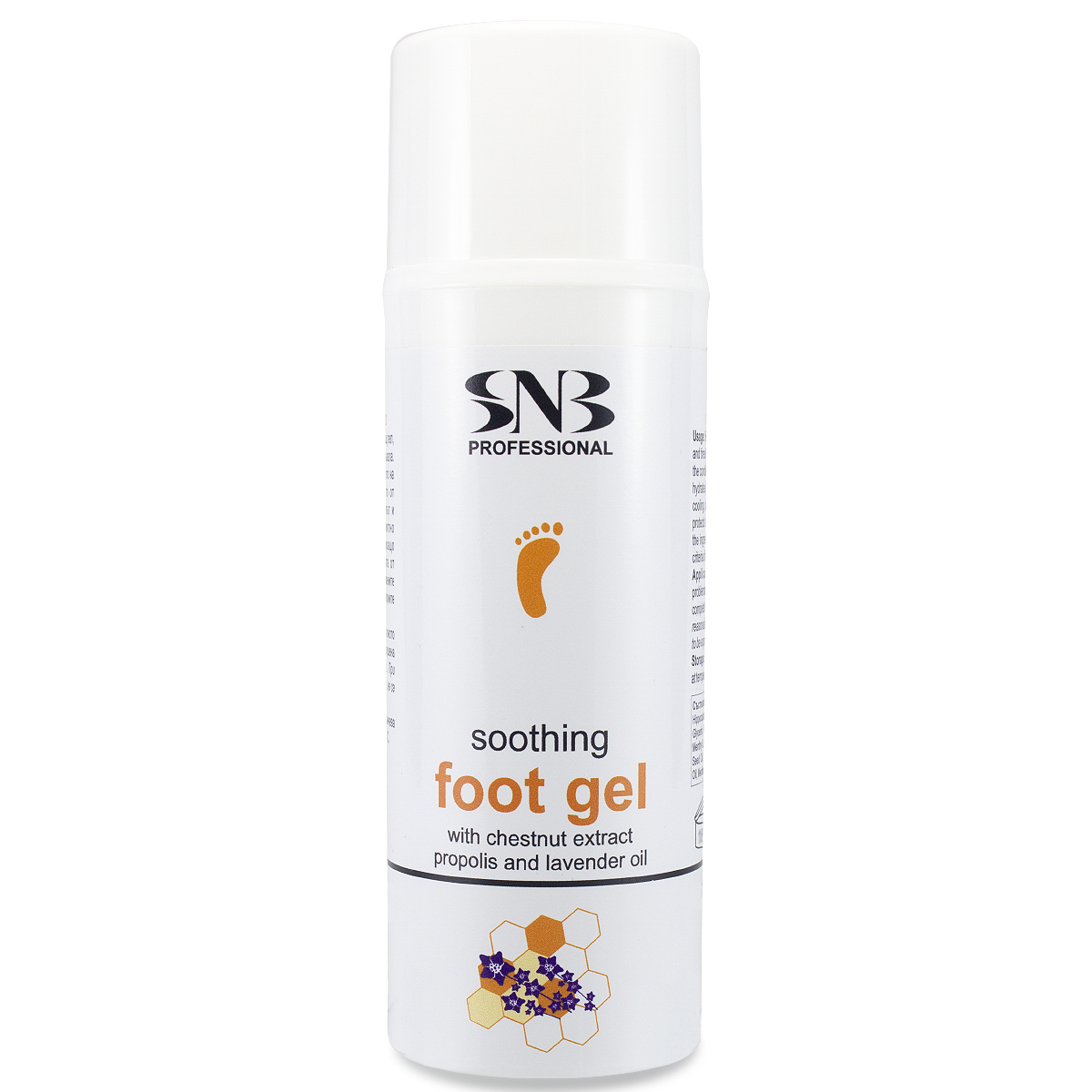 Soothing Foot Gel with Chestnut extract, Propolis and Lavender oil 100 ml