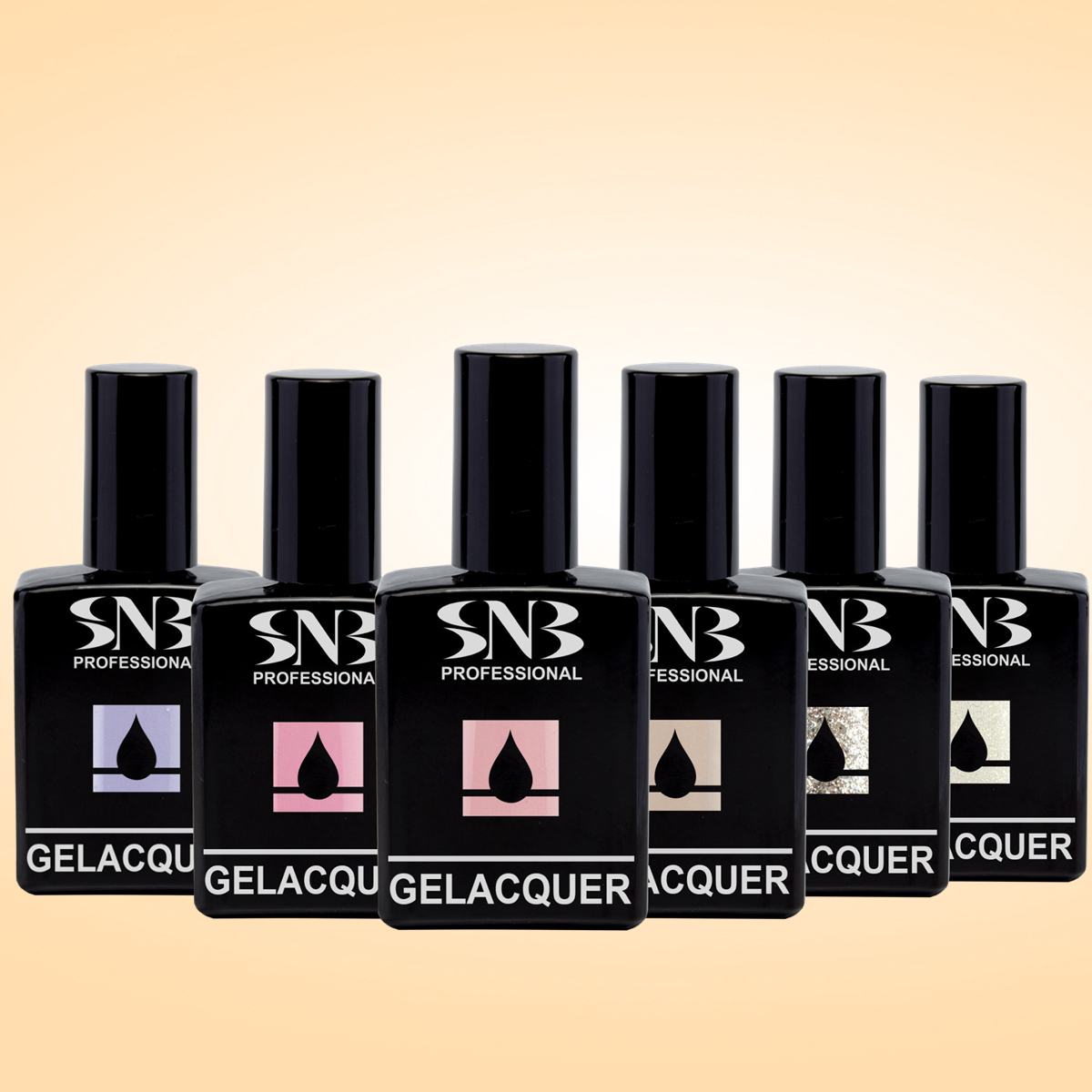 Collection GELACQUER SNB DESERT FLOWERS
